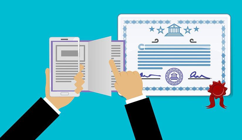 Como obter um certificado de línguas