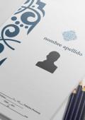 modelo de cv azules presentación candidato