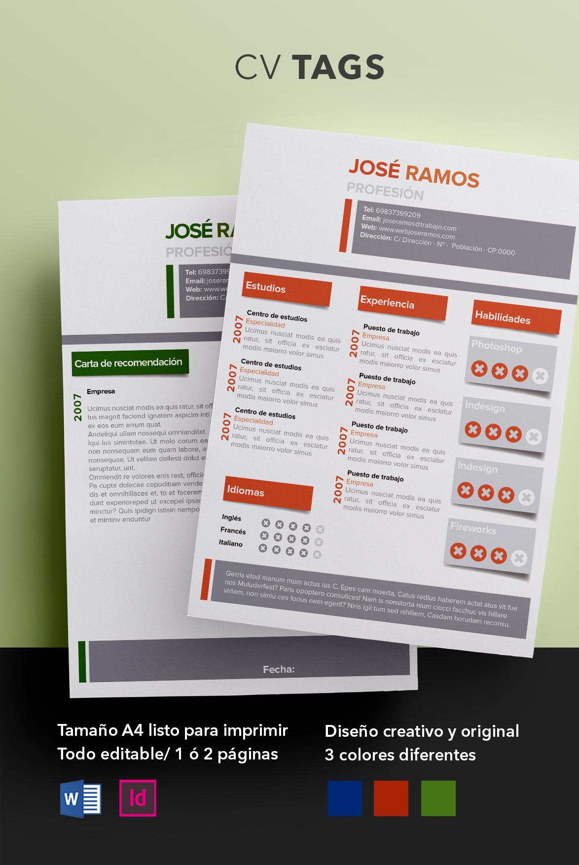 Pack CV Full | Todas las plantillas de curriculum de ShopCV