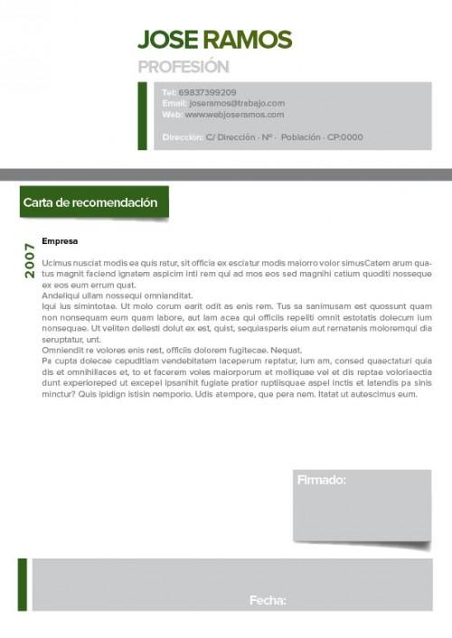 Plantilla carta presentacion tags