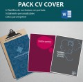pack de curriculums con portada