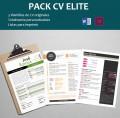 Plantillas CV Elite