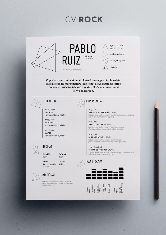 Fantastic Curriculum Vitae Formato Apa Photos - Entry Level Resume ...
