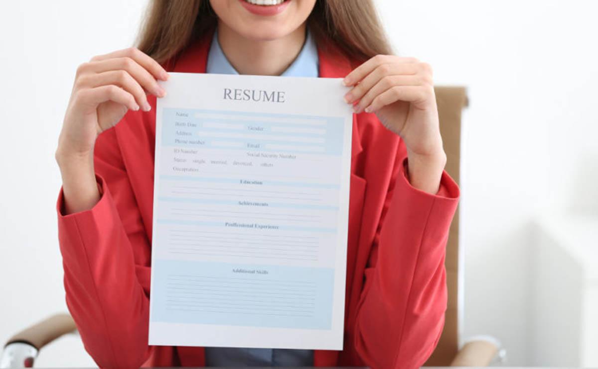 Elementos del formato de un currículum
