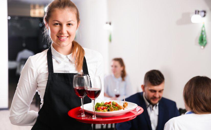 CV en inglés para camarero